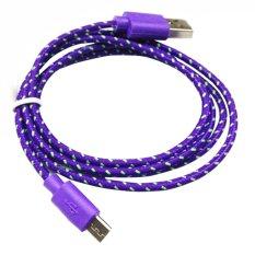 Harga Usb Mikro V8 Kabel Data Ungu Termurah
