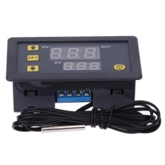 Diskon Produk Mikrokomputer Thermostat Switch Suhu Controller 12 V Digital Display Intl