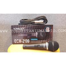 Spek Krezt Ecm 2199 Microphone Mic Kabel Condenser Hitam Jawa Timur