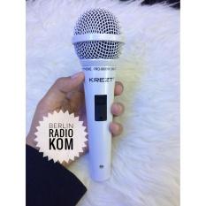 Perbandingan Harga Microphone Mic Kabel Krezt Pro 9900 White Krezt Di Dki Jakarta