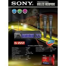Microphone Mic wireless Sony S 222 New Produk Harga Termurah