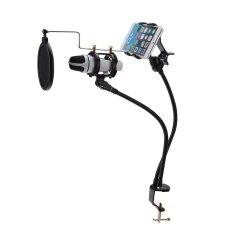 Beli Mikrofon Stand Mount Merekam Mv Untuk Ponsel Intl Terbaru
