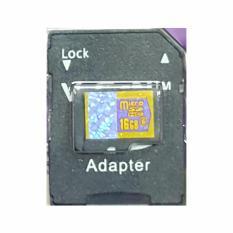 MicroSD V-GeN 16GB + Adapter Class 6 48MB/S - MicroSD VGEN Memory HP