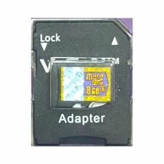 MicroSD V-GeN 8GB + Adapter Class 6 48MB/S - MicroSD VGEN Memory HP