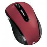 Beli Barang Microsoft D5D 00038 Wireless Mobile Mouse 4000 Ruby Pink Red Top Dengan Sisi Hitam Intl Online