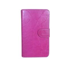 Microsoft Lumia 540 Dual SIM Casing Wave Cover Case - Merah Muda