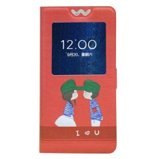 Microsoft / Nokia Lumia 540 Case Artistry Cover Casing Kasing - Gambar Sepasang Kekasih