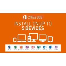Microsoft Office 365 LIFETIME 5 Devices (Subscription)