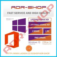 Paket Key Only Windows 10 Professional+Office