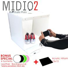 Toko Midio 2 Mini Photo Studio 50X50X45Cm Yang Bisa Kredit