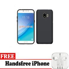Midnight Case Samsung Galaxy J2 Pro 2018 Ultra Slim Matte Softcase (Anti Minyak) - Free Handsfree iphone