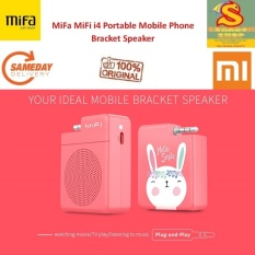 Review Mifa Mifi I4 Portable Bracket Speaker 3 5Mm Audio Plug Mobile Phone Speaker Hands Free Stereo Mini Speaker For Smartphone