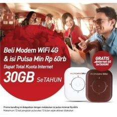 Mifi Modem Wifi 4G Smartfren Andromax M3Y Free Perdana Kuota 30Gb