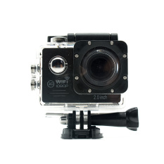 Miibox Action Camera / Sport Cam WIFI FULL HD 1080P 2.0inch LCD 12MP 30FPS 4X Zoom 170 Degree Wide Lens Waterproof (Hitam)