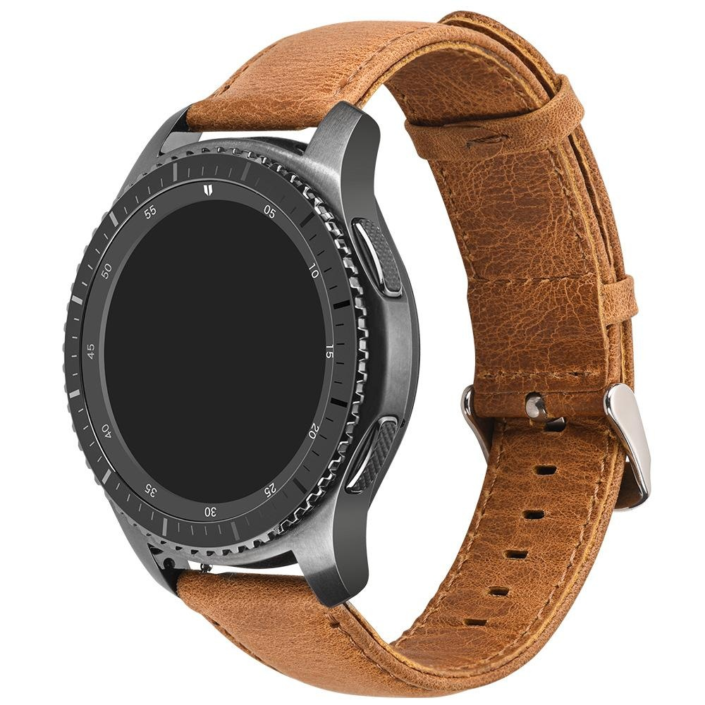 Diskon Miimall Vintage Series Genuine Leather Strap Penggantian Watchband With Gesper Stainless Steel Klasik For Gear S2 Klasik Sm R732 R735 Smart Watch Miimall Di Tiongkok