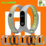 Jual Mijobs Sporty Silicone Strap Mi Band 2 Replacement Case Tali Silikon Pengganti Miband 2 Silicone Online Dki Jakarta