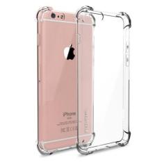 Mika AntiCrack Fuze Case Tahan Banting Untuk  Iphone 4 - Belakang Acrilic Keras - Pinggir Silicone Soft - Clear