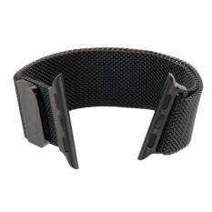 Review Tentang Milanese Loop Magnetic Stainless Steel Watchband Untuk Apple Watch 38Mm Hitam