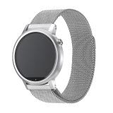 Obral Milan Putaran Magnet Stainless Steel Perhiasan Pengganti Band Tali Pengikat For Moto 360 Lebar 22Mm For 46Mm Kasus Perak Murah