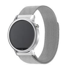 Jual Milan Putaran Magnet Stainless Steel Perhiasan Pengganti Band Tali Pengikat For Moto 360 Lebar 22Mm For 46Mm Kasus Perak Di Bawah Harga