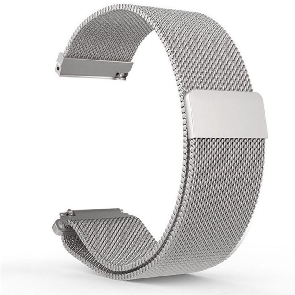 Milanese Magnetic Loop Stainless Steel Band Berlaku untuk Huami Amazfit Bip Bit Pace Lite Youth Smart Watch-Intl