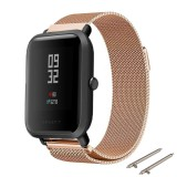 Jual Beli Milanese Magnetic Stainless Steel Smart Watch Band Tali Untuk Huami Amazfit Bip Bit Pace Lite Youth Smart Watch Intl Tiongkok