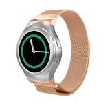 Diskon Milanese Bagus Magnetic Loop Stainless Steel Band Tali Dengan Konektor Untuk Gear S2 R720 R730 Smart Watch Intl Branded