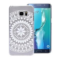 Juta Menghabiskan Tribal Transparan Hard Case untuk Samsung Galaxy S6 EDGE + PLUS-Intl
