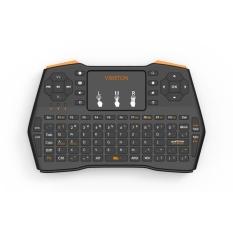 Diskon Besarmilu I8 Plus Mini Keyboard Nirkabel 2 4G Bahasa Inggris Air Mouse Qwerty Keyboard Usb Keyboard Touchpad Untuk Android Tv Box Laptop