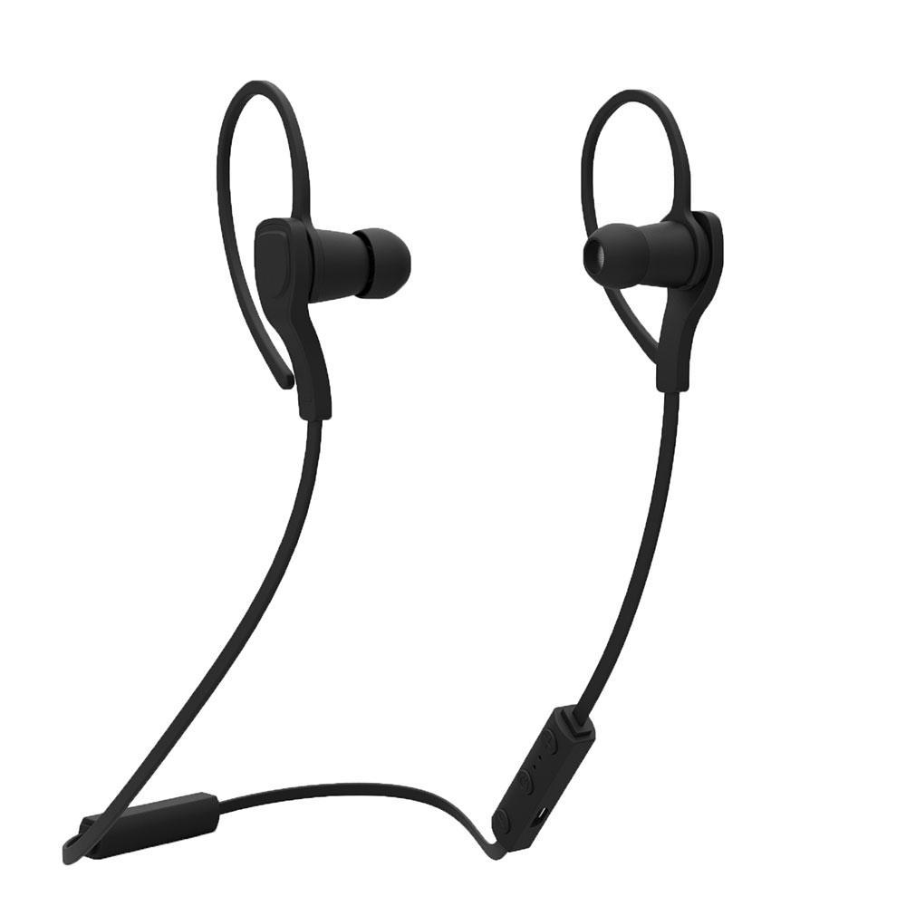 Super Bass headphone di telinga headphone stereo headset dengan mikrofon pita penahan keringat .