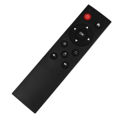 Mingrui USB2.0 Wireless Air Mouse Keyboard Remote Control Android TV Box for PC TV Black - intl
