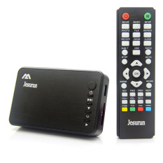 Diskon Besarmini 1080 P Hd Penuh Media Player Hdmi Usb Sd Av Vga Hitam