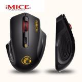Spek Mini 2 4G Mouse Nirkabel E 1800 Hitam Oem