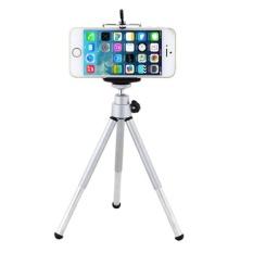 Mini 360°fashion Penahan HP Putar Dudukan Tripod + Tempat Ponsel Braket untuk iPhone Ponsel