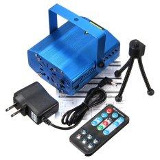 Diskon Mini Auto Suara Xmas Dj Disko Pesta Led Laser Panggung Lampu Proyektor Remote Au Internasional Branded