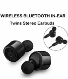 Review Pada Mini Bluetooth Earbud Earphone Ounice Mini Tws Twins True Nirkabel Bluetooth 4 2 Headset Stereo Headphone In Ear Earpiece Hitam Intl