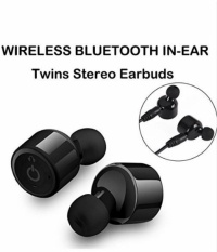 Beli Mini Bluetooth Earbud Earphone Ounice Mini Tws Twins True Nirkabel Bluetooth 4 2 Headset Stereo Headphone In Ear Earpiece Hitam Intl Online