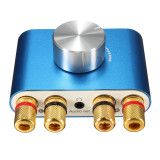 Spesifikasi Mini Hi Fi Headphone Bluetooth Penguat Audio Receiver 2X30 Watt Biru Internasional Dan Harganya