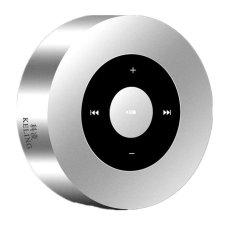 Mini Bluetooth Speaker A8 Portabel Layar Desain Wireless Pemutar Musik dengan MIC Mendukung Mendukung TF Card untuk IPhone 6 Plus 5 4 S Ipad4 IPAD Android Ponsel (Perak) -Intl