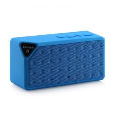 Spek Mini Speaker Bluetooth X3 Tf Usb Radio Fm Radio Suara Music Boxes Portabel Subwoofer Pengeras Suara With Mikrofon For Ios Android Biru Oem