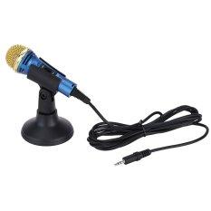Jual Mini Kondensor Wired Jaringan K Lagu Recording Mic Mikrofon With Stand Satu Set