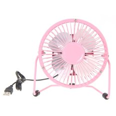 Mini Meja Penggemar USB (Warna: Pink)-Intl