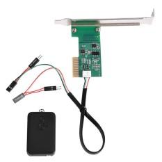 Mini Desktop PC Remote Control 20m Wireless Restart Switch Turn On OFF Computer (PCI) - intl