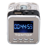 Spesifikasi Mini Portabel Digital Musik Mp3 4 Player Micro Sd Tf Usb Disk Yang Pembicara Radio Fm Hitam Paling Bagus