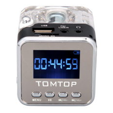 Beli Mini Portabel Digital Musik Mp3 4 Player Micro Sd Tf Usb Disk Yang Pembicara Radio Fm Hitam Secara Angsuran