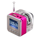 Jual Mini Digital Portable Music Mp3 Player Micro Sd Tf Usb Speaker Fm Radio Pink Intl Indonesia Murah