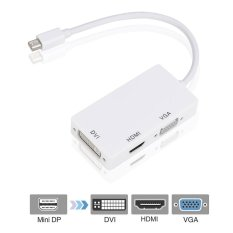 Mini DP DisplayPort untuk HDMI DVI VGA Display Port Kabel Adaptor untuk MacBook Pro-Intl