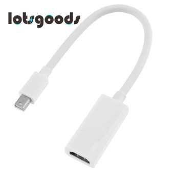 Mini DP to HDMI Cable Adapter Displayport Male to HDMI Female Converter - intl