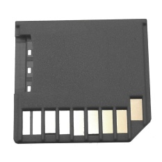 Mini Drive SD Ke Micro SD SDHC TF Pembaca Kartu Adaptor untuk Macbook Retina AIR PRO Hitam