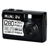Promo Mini Dv Digital Camera 5Mp Hd Hitam Akhir Tahun